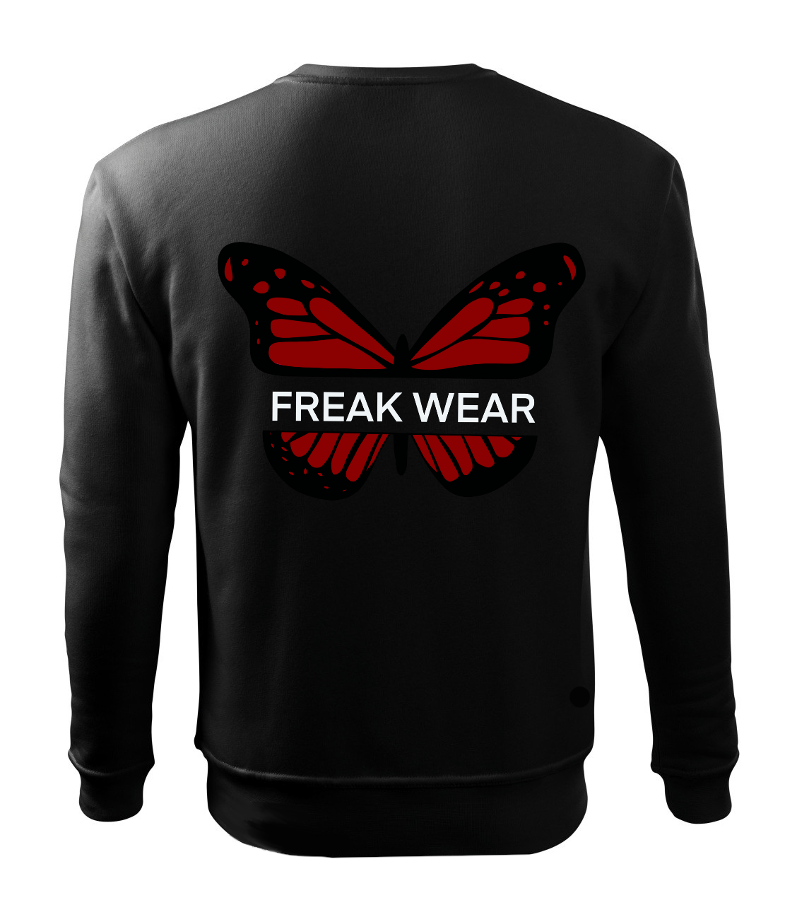 Mikina Freak Wear bez kapuce B red
